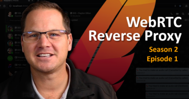 S2E1: WebRTC Reverse Proxy
